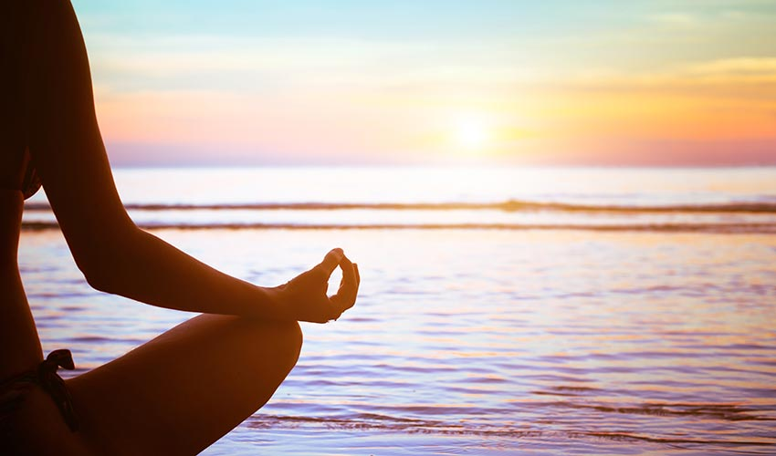 Meditation hindrar stress